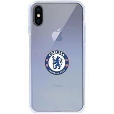 Chelsea iPhone X Cover - Vit/Blå