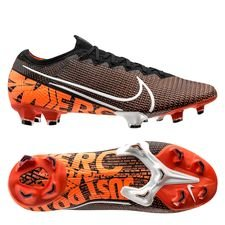 Nike Mercurial Vapor 13 Elite FG - Sort/Hvid/Orange