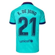 Barcelona Tredjetröja 2019/20 F. DE JONG 21