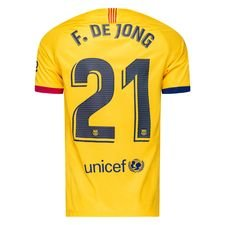 Barcelona Udebanetrøje 2019/20 F. DE JONG 21