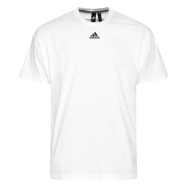 adidas T shirt Must Haves 3 Stripes WitZwart