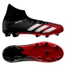adidas Predator 20.3 FG/AG Mutator - Zwart/Wit/Rood
