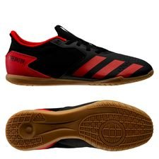 adidas Predator 20.4 IN - Sort/Rød