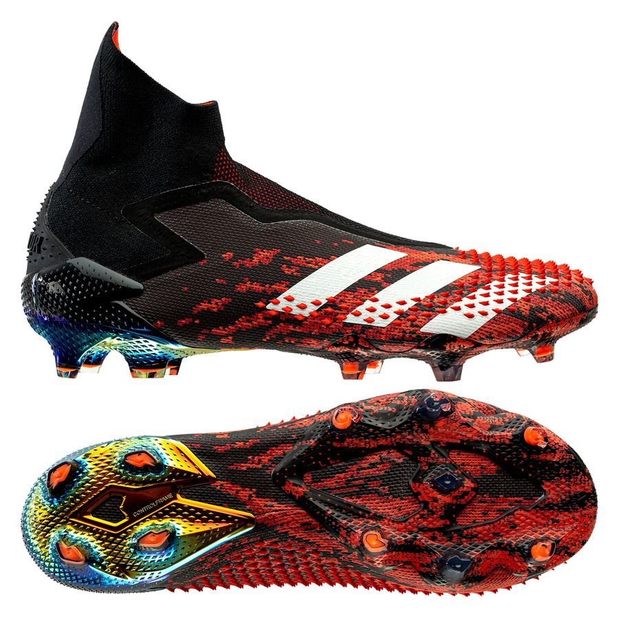 adidas Predator 20+ FG/AG Mutator - Core Black/Footwear White/Action Red