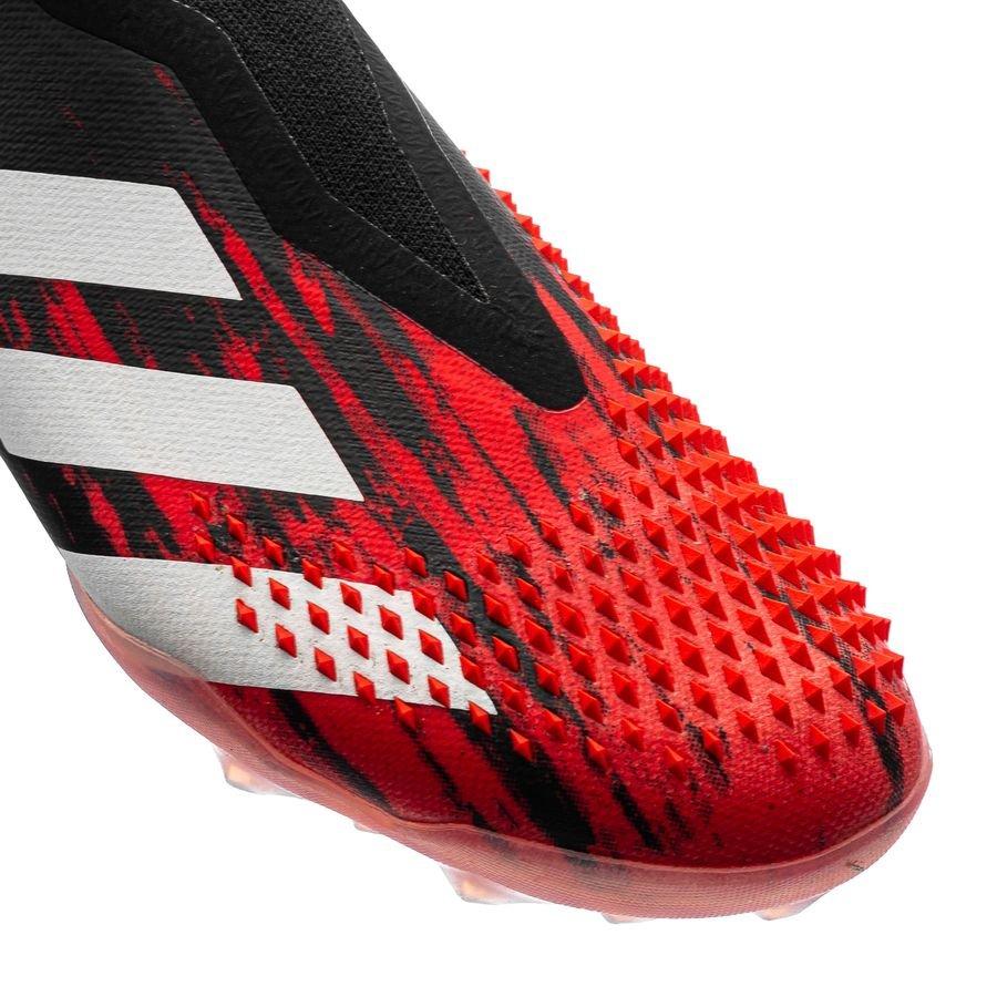 adidas Predator 20+ TF Uniforia Valkoinen Musta Punainen.