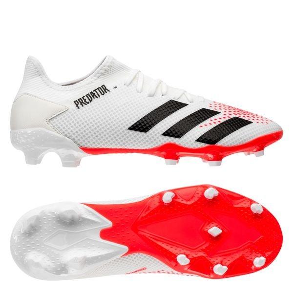 adidas Predator 20.3 Low FG/AG Uniforia - Blanc/Noir/Rouge