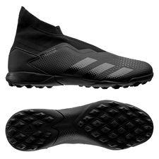 adidas Predator 20.3 Laceless TF Shadowbeast - Sort/Grå