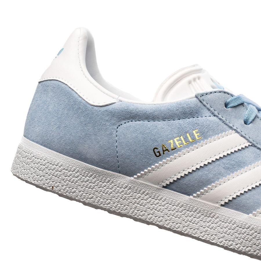 adidas Originals Chaussures Gazelle - Bleu Ciel/Blanc/Doré | www ...