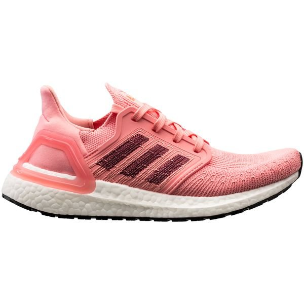adidas Ultra Boost 20 - Glow Pink/Bordeaux/Signal Coral Damen