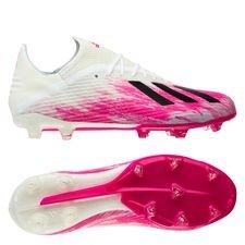 adidas X 19.2 FG/AG - Hvid/Sort/Pink