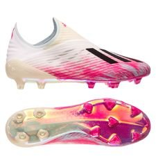 adidas X 19+ FG/AG - Hvid/Sort/Pink