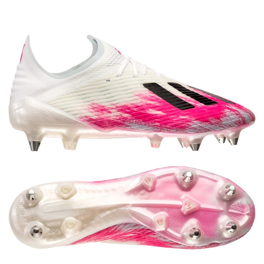 adidas football boots black and pink