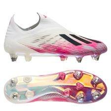 adidas X 19+ SG - Hvid/Sort/Pink