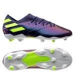 adidas Nemeziz Messi 19.1 FG/AG - Tech Ink/Vert/Violet Enfant