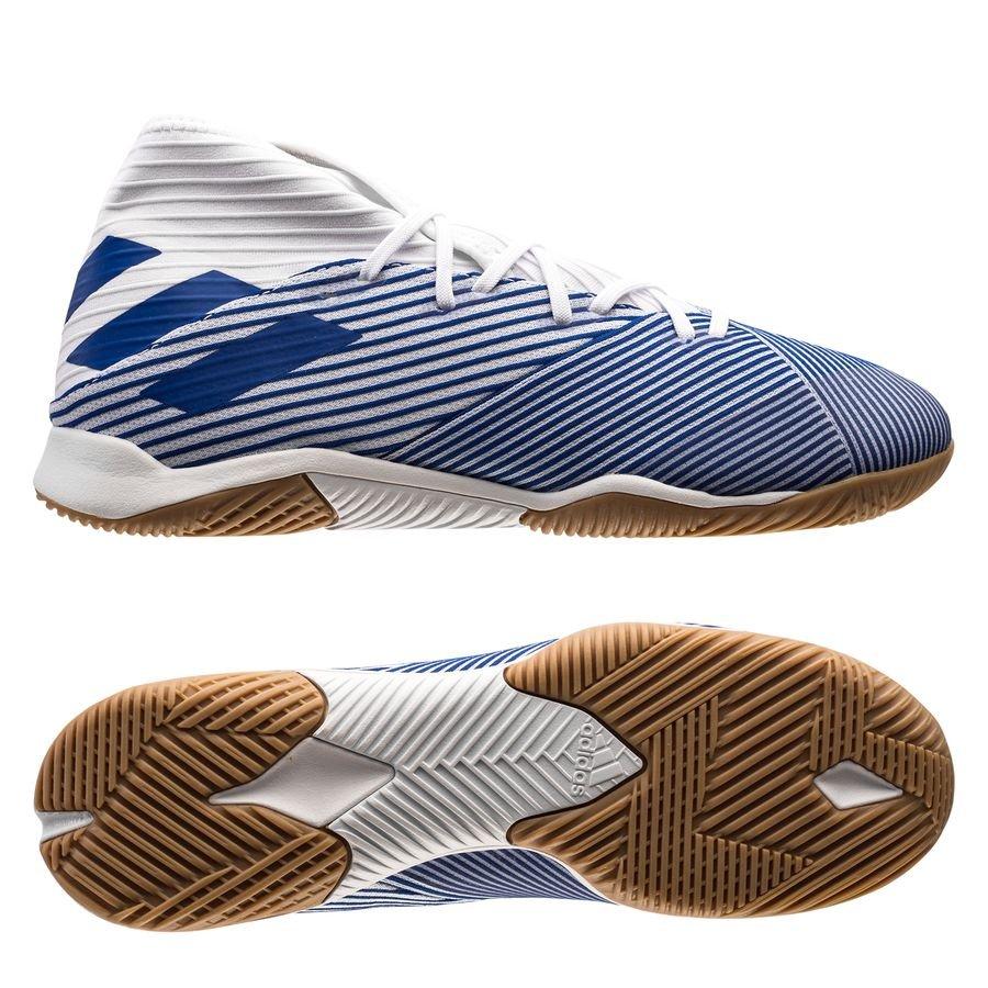 adidas Nemeziz 19.3 IN Mutator - Hvid/Blå