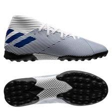 adidas Nemeziz 19.3 TF Mutator - Hvid/Blå Børn