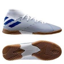 adidas Nemeziz 19.3 IN Mutator - Hvid/Blå Børn