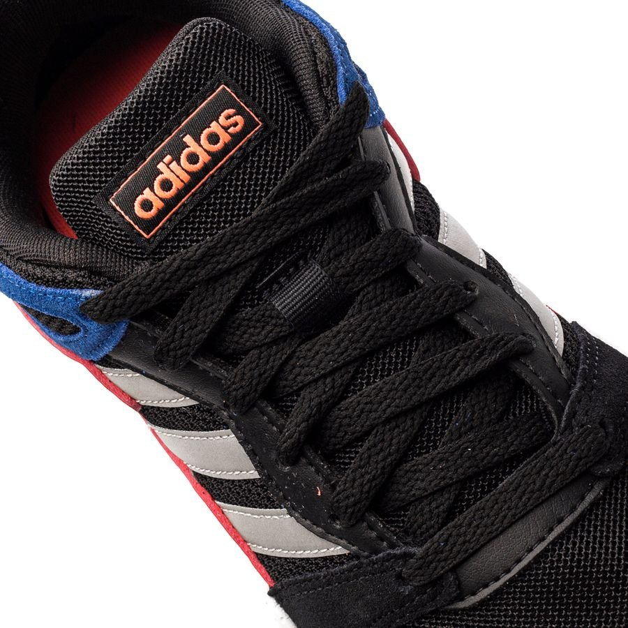 adidas Sneakers Crazychaos ZwartZilverBlauw Kinderen