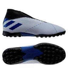 adidas Nemeziz 19.3 TF Laceless Mutator - Weiß/Blau Kinder