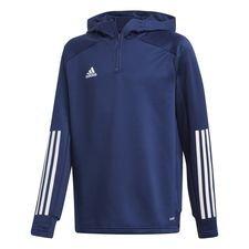 adidas Trainingsjacke Condivo 20 Hood - Navy/Weiß Kinder
