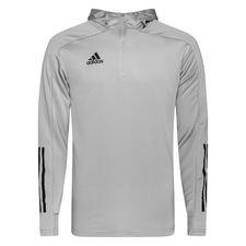 adidas Trainingsjacke Condivo 20 Hood - Grau/Schwarz