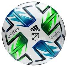 adidas Fotboll MLS Mini NATIVO XXV - Vit/Blå/Grön/Silver