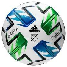 adidas Fotboll MLS Matchboll Pro NATIVO XXV - Vit/Blå/Grön/Silver