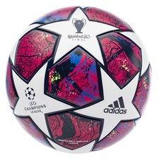 adidas Fußball Champions League 2020 League - Weiß/Pantone/Glory Blue/Navy