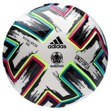 adidas Fotboll Uniforia Mini EURO 2020 - Vit/Svart/Grön/Turkos