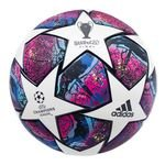 adidas Football Champions League 2020 Pro Match Ball - White/Pantone/Collegiate Royal/Bright Cyan