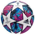 adidas Fodbold Champions League 2020 Mini - Hvid/Lilla/Blå/Navy