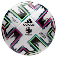 adidas Fotboll Uniforia League J290 EURO 2020 - Vit/Svart/Grön/Turkos