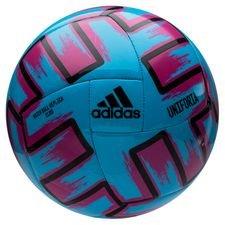 adidas Fotboll Uniforia Club Ball EURO 2020 - Turkos/Rosa/Svart