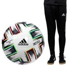 adidas Fotboll Uniforia Jumbo EURO 2020 - Vit/Svart/Grön/Turkos