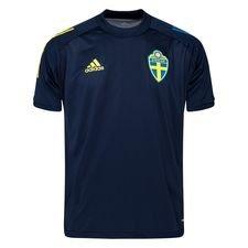 Sverige Tränings T-Shirt - Navy/Gul