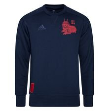 Bayern München Sweatshirt Chinese New Year - Navy/Rot LIMITED EDITION