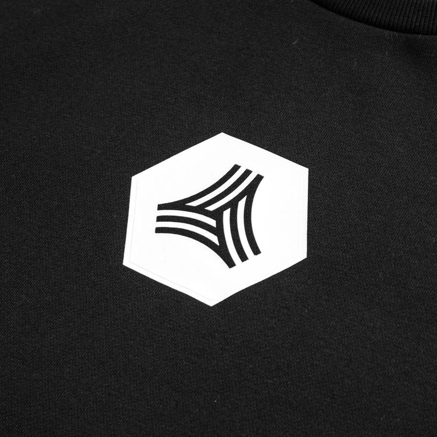 adidas Sweatshirt Tango Crew Logo ZwartWit