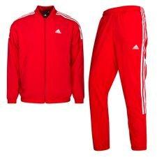 adidas Trainingsanzug Woven Light - Rot/Weiß