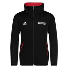 adidas Trainingsjacke Predator - Schwarz/Rot Kinder