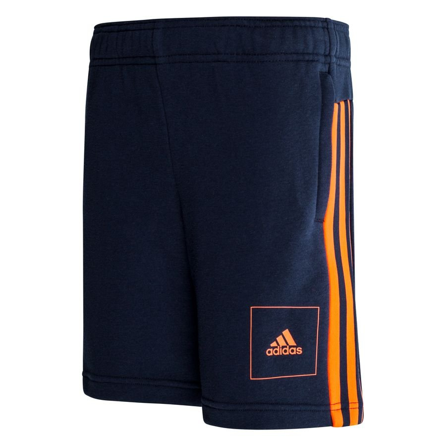 adidas Athletics Pack Shorts - Navy/Orange Børn thumbnail