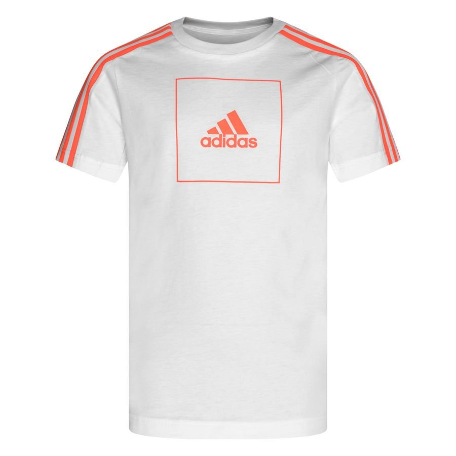 adidas Athletics Club T Shirt WhiteOrange Kids