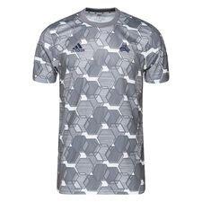 adidas Tränings T-Shirt Tango AOP - Grå/Vit