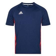 adidas T-Shirt Tango Tape - Navy/Röd