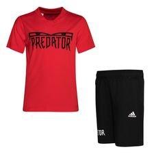 adidas Predator Summer Set - Rot/Schwarz Kinder