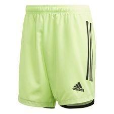 adidas Trainingsshorts Condivo 20 - Signal Green/Schwarz Kinder