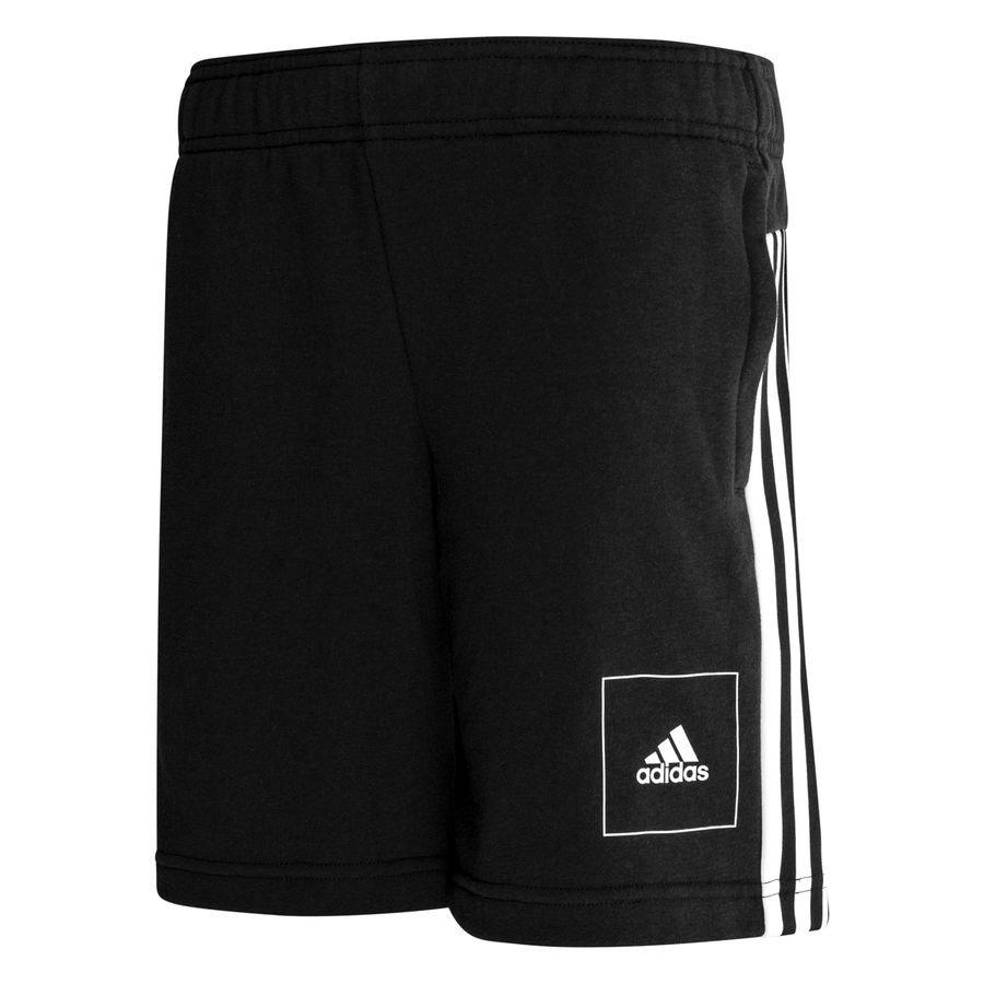 adidas Athletics Club Shorts - Sort/Hvid Børn thumbnail