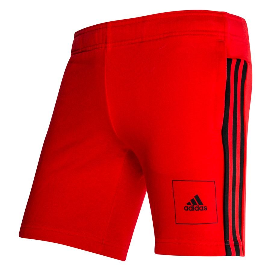 adidas Athletics Club Shorts - Rød/Sort Børn thumbnail