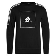 adidas Athletics Club Sweatshirt - Schwarz/Weiß Kinder