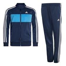 adidas Trainingsanzug Tiberio - Blau/Weiß Kinder
