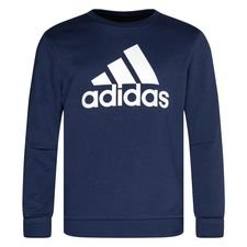 adidas Sweatshirt Crew Must Haves - Blau/Weiß Kinder